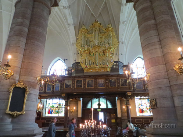 The Dazzling Tyska Kyrkan in Stockholm