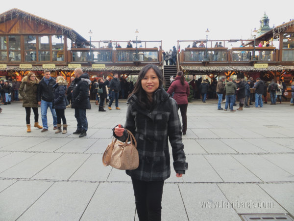Karlsplatz ice rink Munich