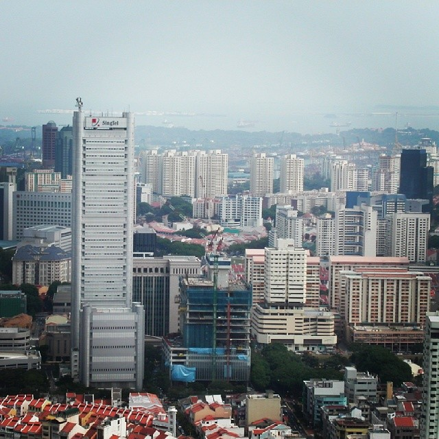 Singapore it is! A view from the hotel. #travel #travelphoto #travelgram #instaphoto #asia