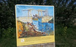Pont Van Gogh sign