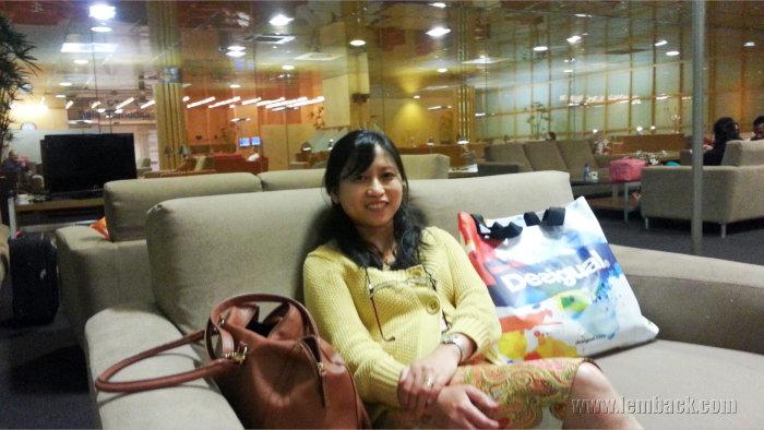 at Sala VIP Canudas lounge
