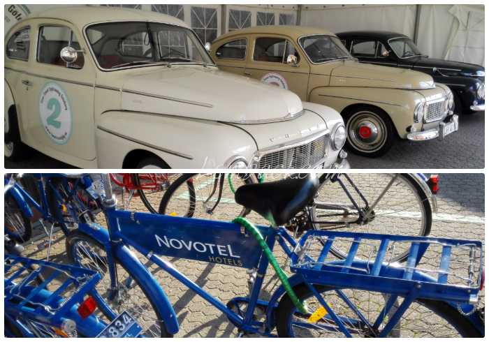 Novotel Goteborg bikes and cars