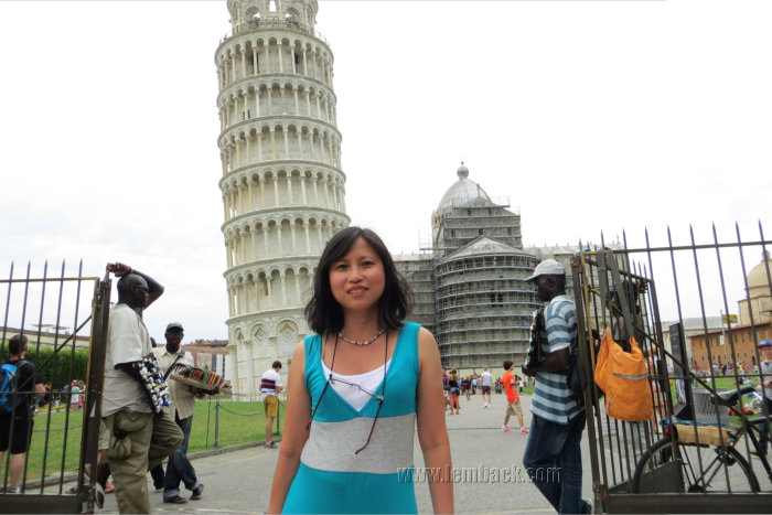 Me at the Tower of Pisa