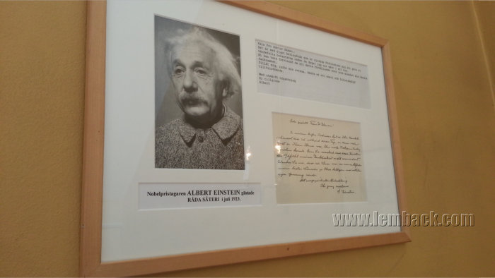Albert Einstein was here!