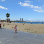 Strolling and Shopping at Barceloneta