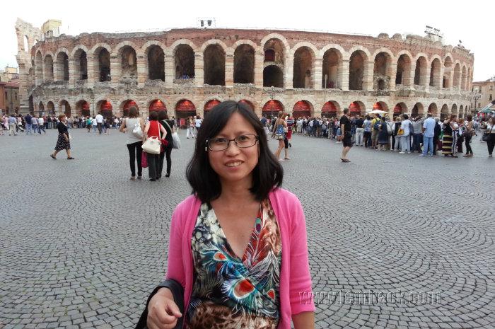 Verona Arena background