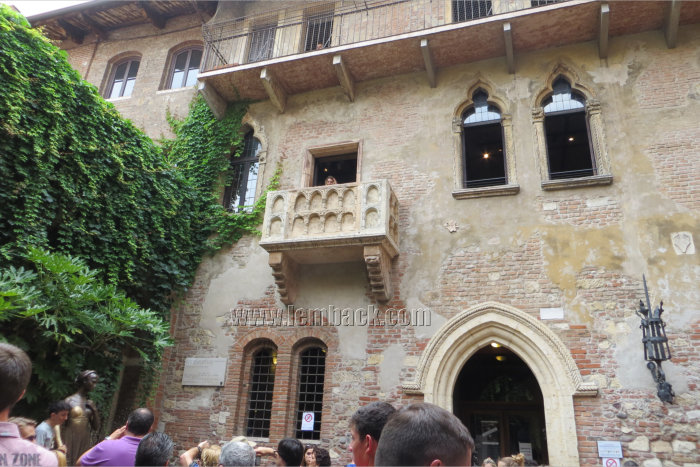 Verona: Finding Our Way To Juliet's House