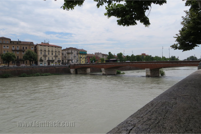 Adige River Verona