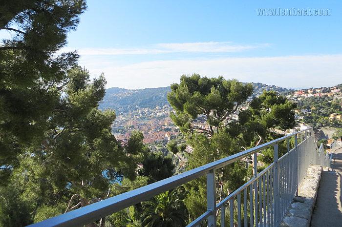 Nice-Monaco mountain view