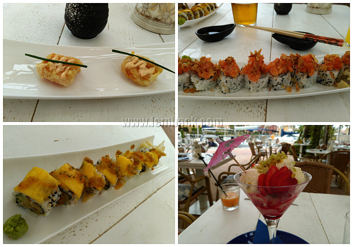 Food Trip in Malága: From Pasta to Sushi to Gambas