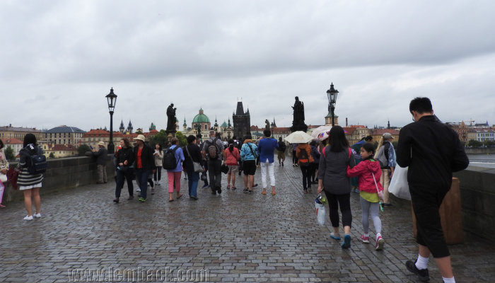 Prague: A Leisurely Walk On Charles Bridge
