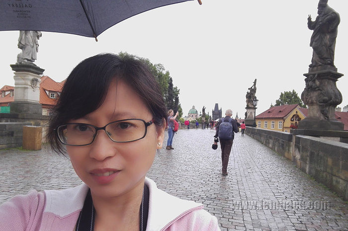 Me on Charles Bridge