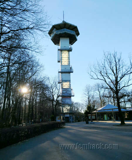 Observation tower at Drielandenpunt