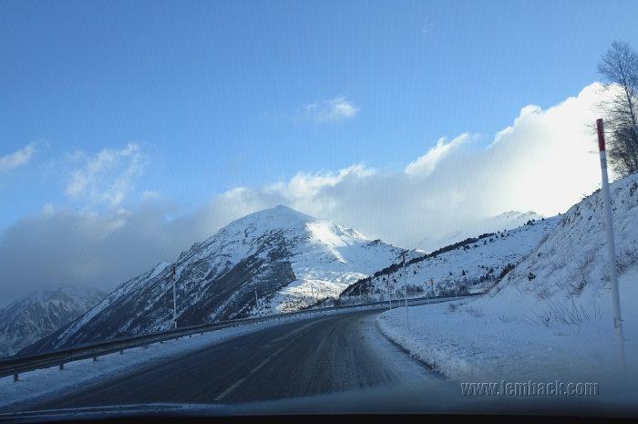 Andorra in winter